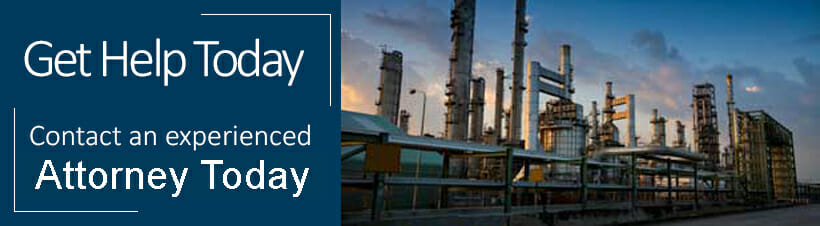 refinery accident banner
