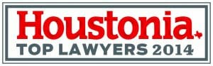 Houstonia Top Lawyers 2014 Adam Funk