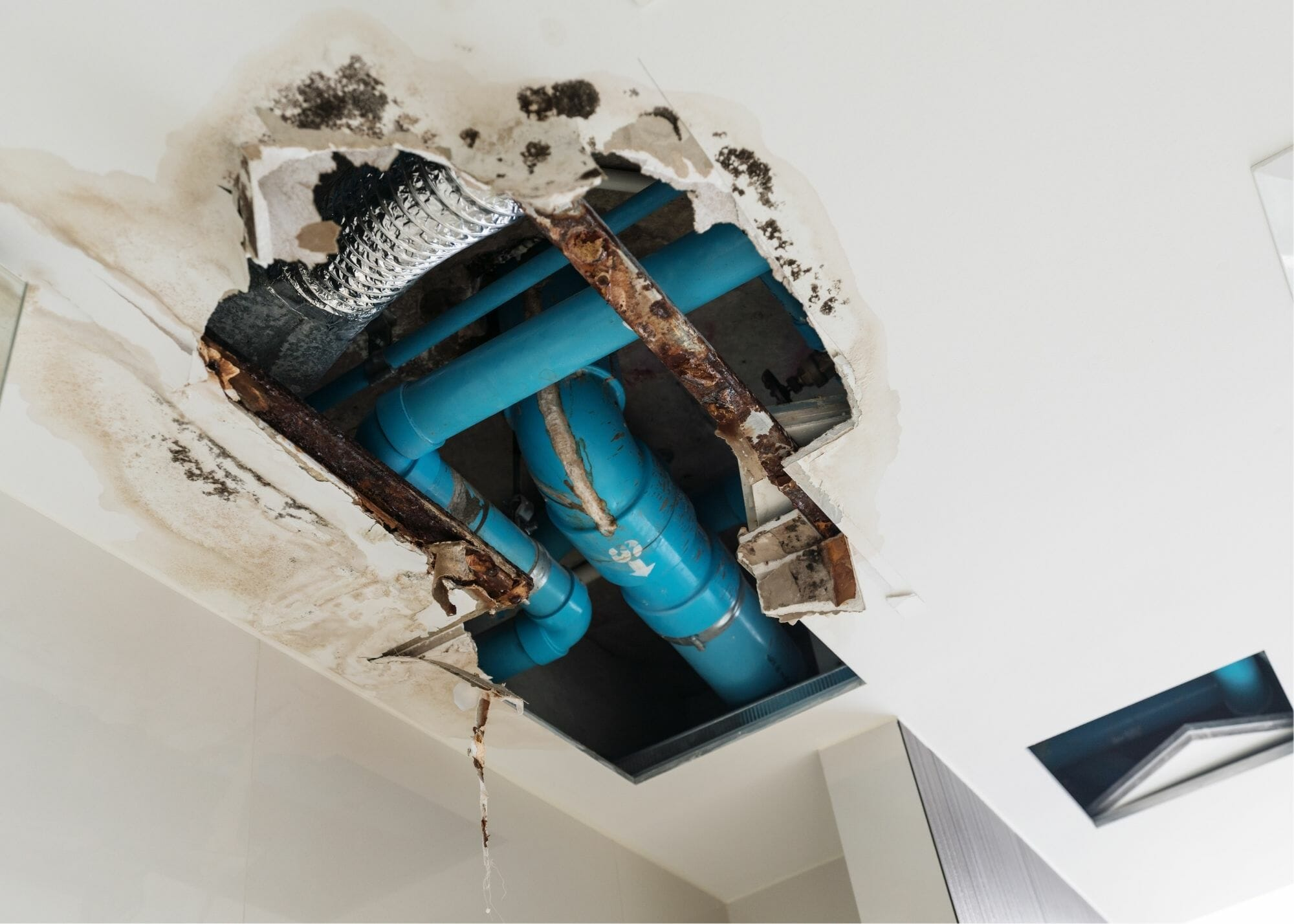 Water Damage and Pipe Burst